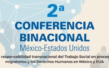 Segunda Conferencia Binacional México-Estados Unidos sobre el trabajo social en procesos migratorios