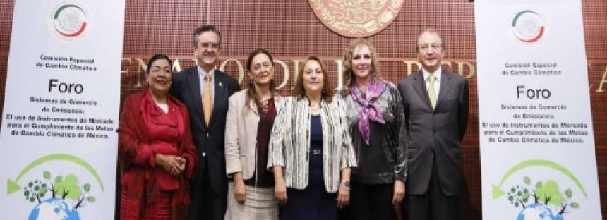 Analiza Senado Urge en México implementar un sistema de comercio de emisiones de carbono