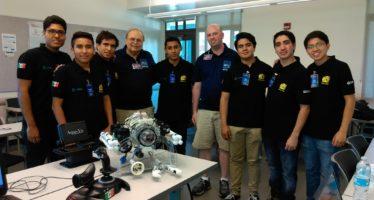 Compiten con Balán, un robot submarino y destacan estudiantes mexicanos del ITESM en Estados Unidos