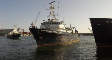 En aguas mexicanas de la Corriente de California, concluye misión y crucero oceanográfico CICESE-NASA