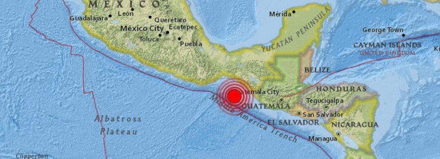 México no reporta daños por sismo de 8 grados Richter de esta noche en Pijijiapan, Chiapas. Réplica de 6.1 en Salina Cruz