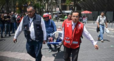 En aniversario del gran terremoto de 1985, vuelve a temblar el 19 de septiembre con daños incalculables en CDMX, Puebla y alrededores