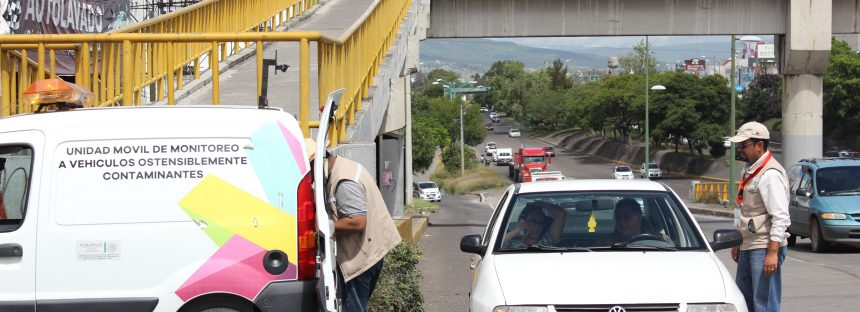 Programa de monitoreo de vehículos ostensiblemente contaminantes