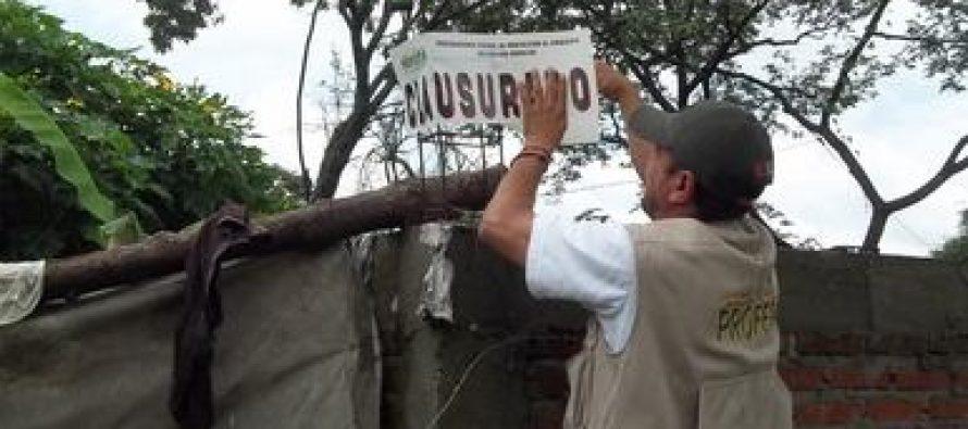 Clausuran construcción de tres casas en el Parque Nacional El Tepozteco en Morelos