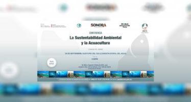 Hermosillo: La sustentabilidad ambiental y la acuacultura, conferencia del MC Lorenzo M. Juárez