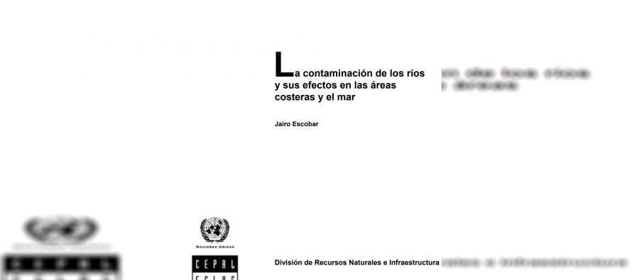 La contaminación de los ríos y sus efectos en las áreas costeras y el mar