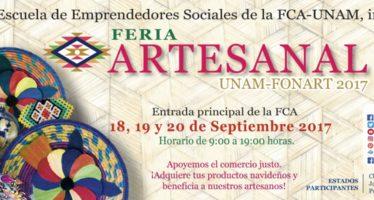 Feria Artesanal UNAM-FONART 2017