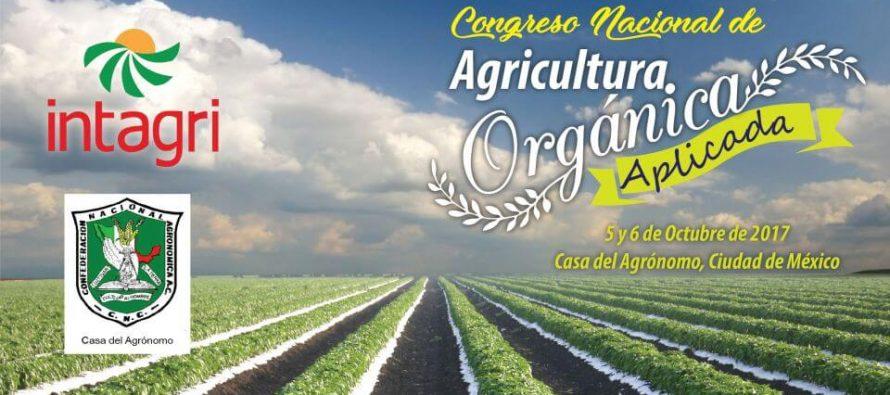 En CDMX en octubre, Congreso Nacional de Agricultura Orgánica Aplicada