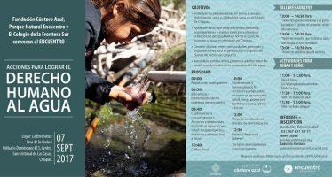 Acciones para lograr el derecho humano al agua