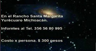 Noche astronómica en familia en el Rancho Santa Margarita, Yurécuaro, Michoacán