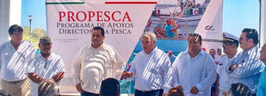 Concluye entrega de recursos por compensación y para proyectos acuícolas e inspección y vigilancia en Baja California Sur