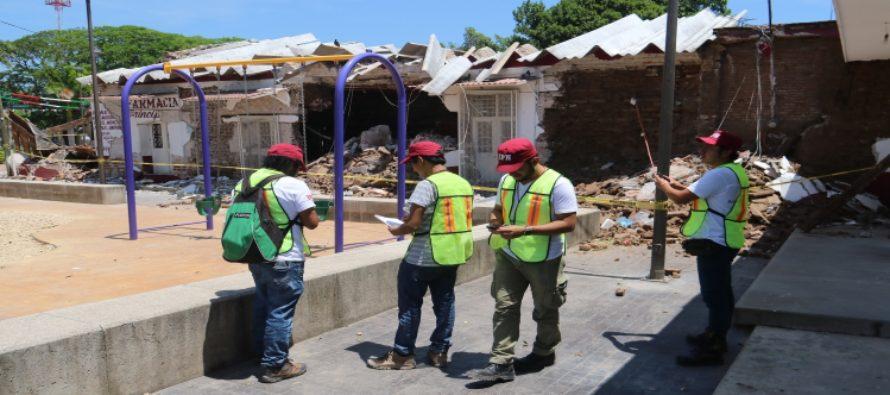 Ingenieros politécnicos diagnostican estructuralmente viviendas de Ixtaltepec, Oaxaca