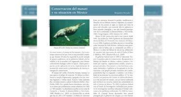 Conservación del manatí y su situación en México
