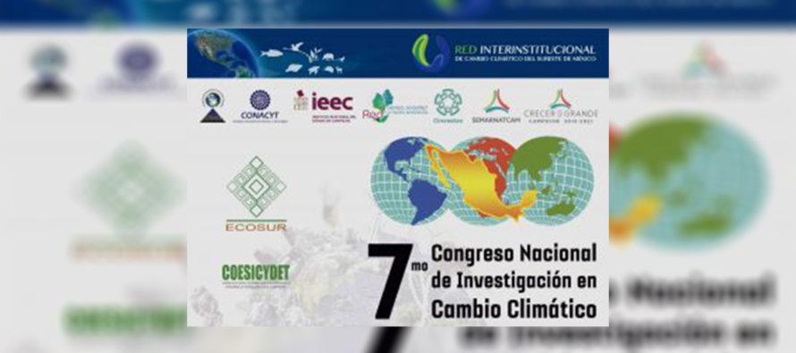 En Campeche, VII Congreso Nacional de Investigación en Cambio Climático Del antropoceno a la sustentabilidad