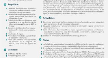 INECOL: Convocatoria Tesis de Maestría 2017 – 2018