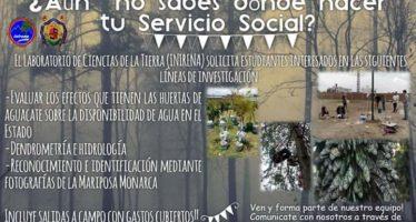INIRENA solicita interesados en realizar su servicio social