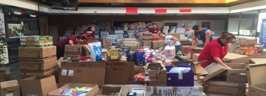 El IPN mantiene abiertos los centros de acopio para los damnificados por sismos de Oaxaca, Chiapas y Morelos