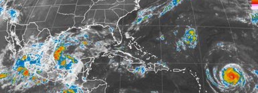 Se esperan tormentas muy fuertes en el centro y norte del país