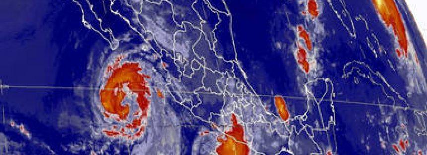 Se espera que el huracán Norma avance hacia el norte del territorio nacional