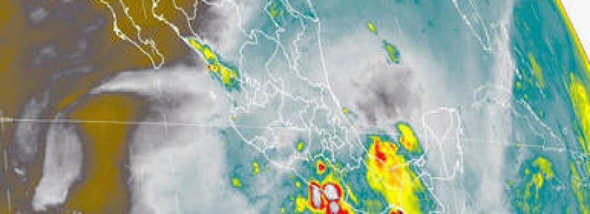 Tormentas intensas se prevén para el sur del territorio nacional