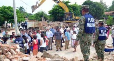 Darán apoyo para la reconstrucción de viviendas en Oaxaca