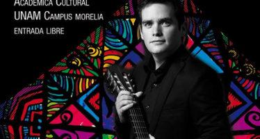 UNAM Campus Morelia invita a: Omar Kaminsky en concierto