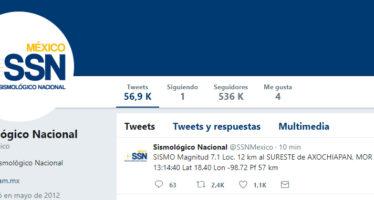 Sismo de 7.1 grados Richter en Morelos a las 13:14 horas de hoy, activa recuerdos del gran terremoto del 19 de septiembre de 1985