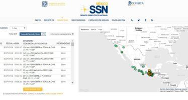 Se han registrado distintas réplicas del sismo del 7 de septiembre a lo largo del país