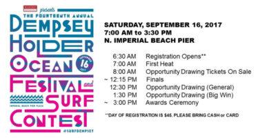 14º  Festival del Océano y Concurso de Surf Dempsey Holder en California