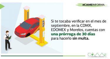 Se amplía plazo para cumplir con verificación vehicular en la Megalópolis