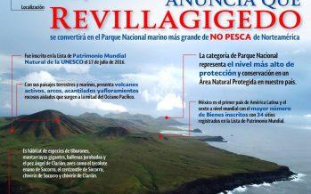 Revillagigedo se convertirá en el Parque Nacional marino más grande de no pesca en Norteamérica