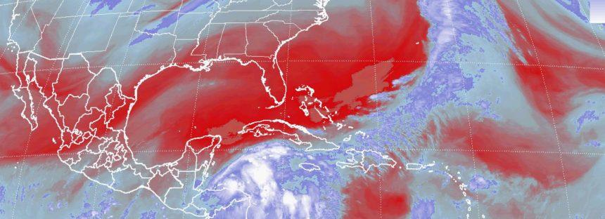 Descenso de temperatura en el norte y noreste de México por Frente Frío No. 7
