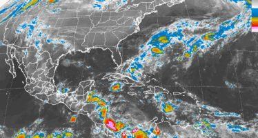 Sureste mexicano bajo tormentas fuertes y altas temperaturas en casi todo el país