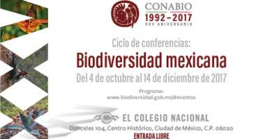 Ciclo de Conferencias Biodiversidad Mexicana en el Colegio Nacional