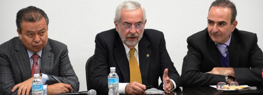 """El rector Enrique Graue de la UNAM propuso urgentemente crear un """"espejo"""" del Servicio Sismológico Nacional fuera de la Ciudad de México"""