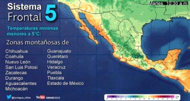 Se pronostican tormentas intensas para Veracruz, Tabasco y Chiapas, y muy fuertes para Oaxaca y Campeche