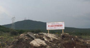 Clausuran obra civil ilegal de 1,250 m2 en el Parque Nacional el Cimatario de Querétaro