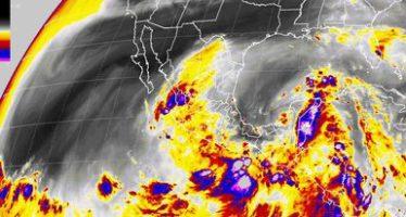 Tormentas intensas se esperan para el sureste del país