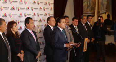 Renueva su gabinete el gobernador  de Michoacán, Silvano Aureoles Conejo