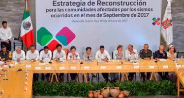 En Oaxaca, inicia reconstrucción de sector agroalimentario y pesquero