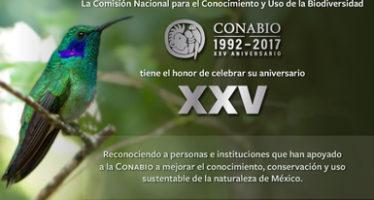 La Conabio cumplió 25 años de existencia y trabajo para entender el capital natural de México
