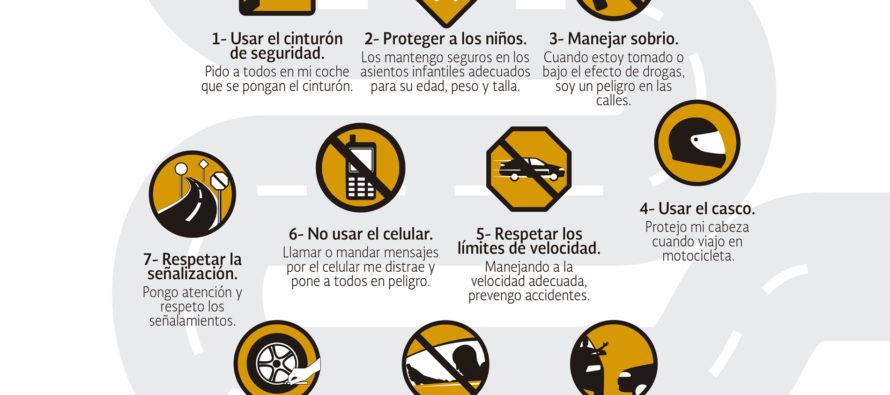 Los accidentes viales le cuestan a México anualmente, 1.7% del PIB
