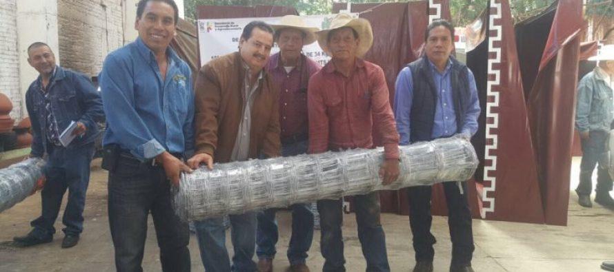 Incentiva Sedrua al agro de Tzintzúntzan