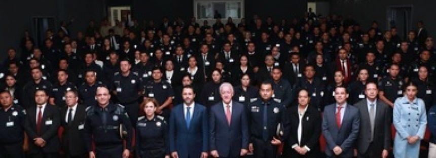 Técnicos de la CONANP capacitan a elementos de la Policía Federal en el EdoMex