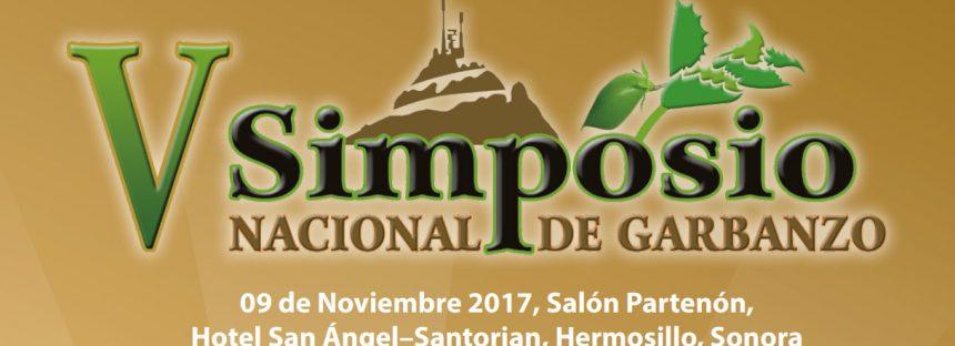 V SIMPOSIO NACIONAL DE GARBANZO 2017