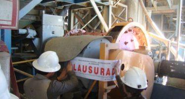 La empresa Minera Santa Cruz Silver, de Zacatecas fue clausurada por mal manejo de emisiones a la atmósfera