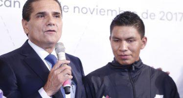 Rigoberto Camilo Cortés, Premio Estatal del Deporte 2017 en Michoacán