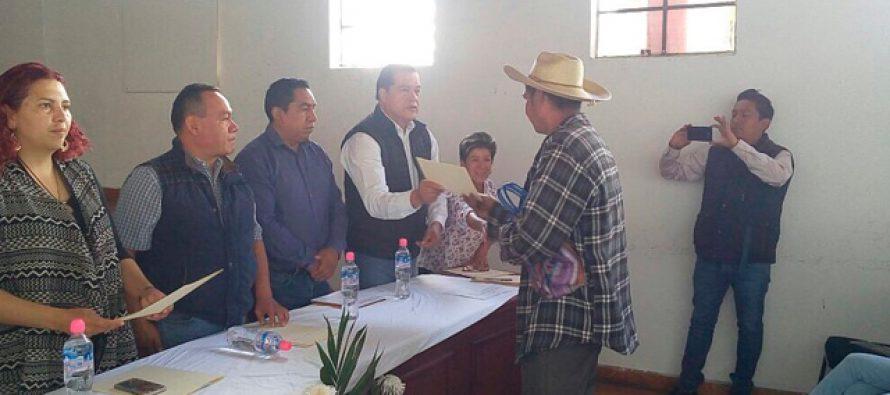 Impulsan Sedrua y Ayuntamiento 60 proyectos agropecuarios en Paracho