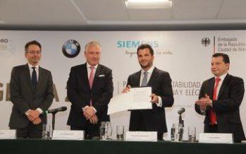 Recibe gobierno mexicano la Agenda 2020 para una sustentabilidad y movilidad urbana y eléctrica en México