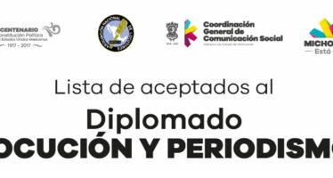 Avanza  Diplomado en Locución y Periodismo, impartido por la CGCS